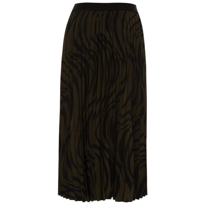 Lala Swirl Skirt -  black