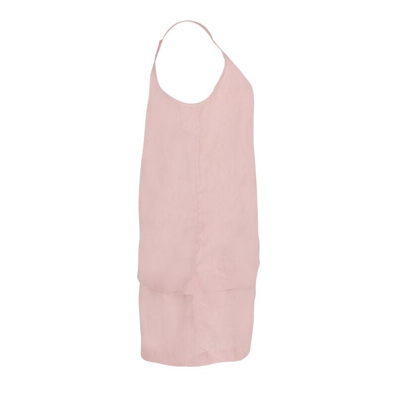 Hunny Linen Cami Set -  pink