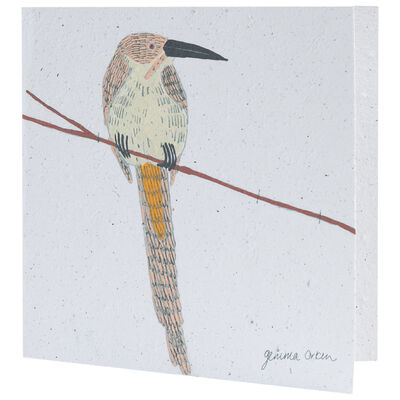 Gemma Orkin White Bird Card