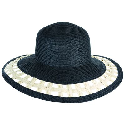 Ara Cut Out Wide Brim Floppy Hat