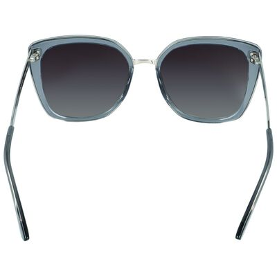 Modern Metal Inset Sunglasses