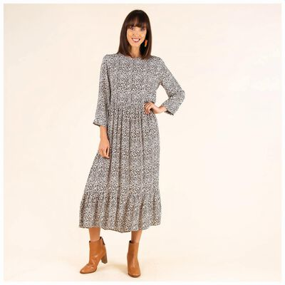Xandra Drop Waist Dress