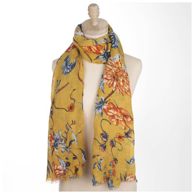 Corinne Floral Scarf