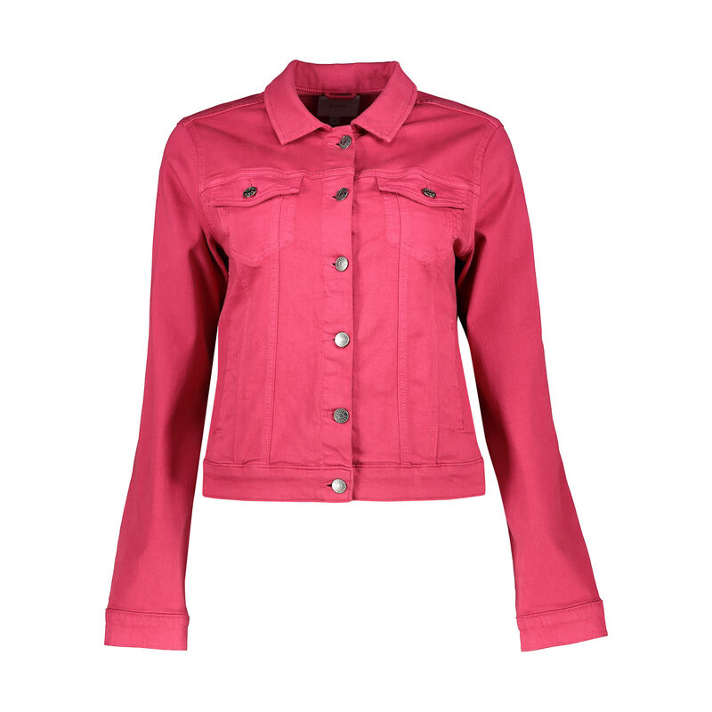 Shazzy Denim Jacket -  fuchsia