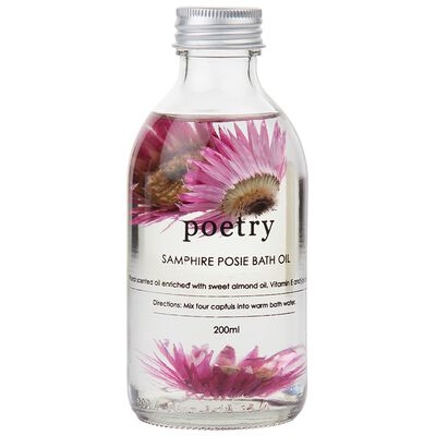 Samphire Posie Petal Bath Oil