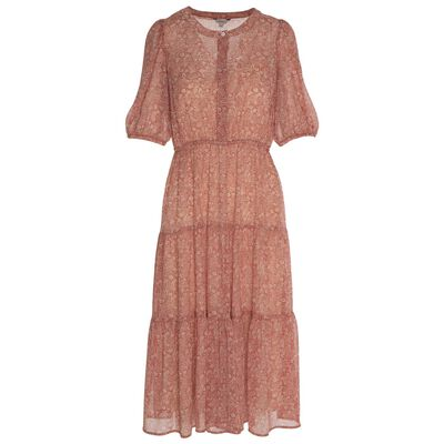 Rosalia Tiered Shirt Dress