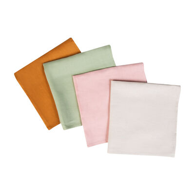 Assorted Linen Napkin Set