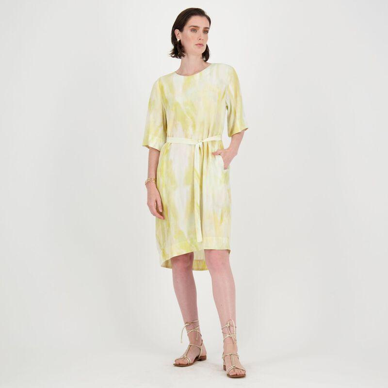 Carmen Abstract Print Dress -  dc3300