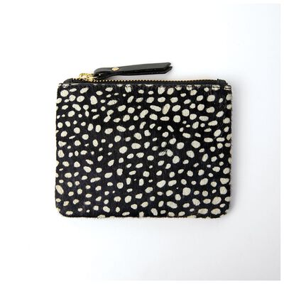 Moira Leather Dotted Pouch