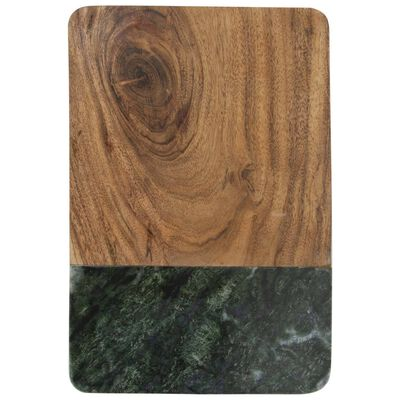 Green Marble & Wood Board