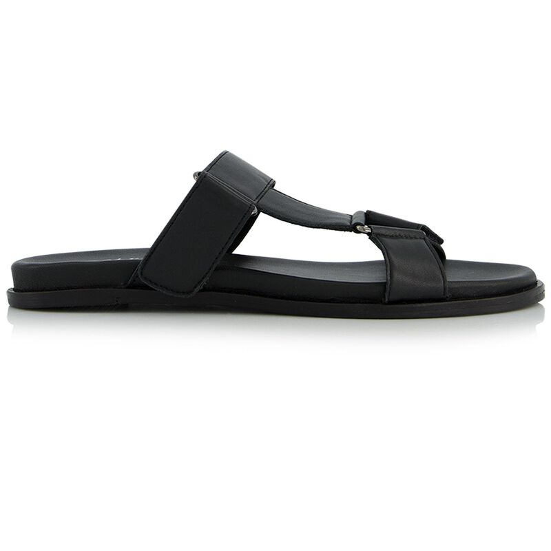 The Yara Sandal -  black