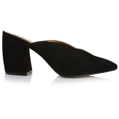GIANNA Curved Block Mule