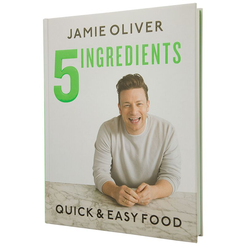 Jamie Oliver 5 Ingredients: Quick & Easy Food -  grey-green