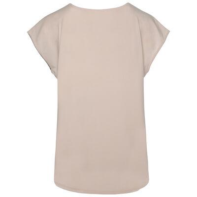 Zeta Floral Mix Media T-shirt