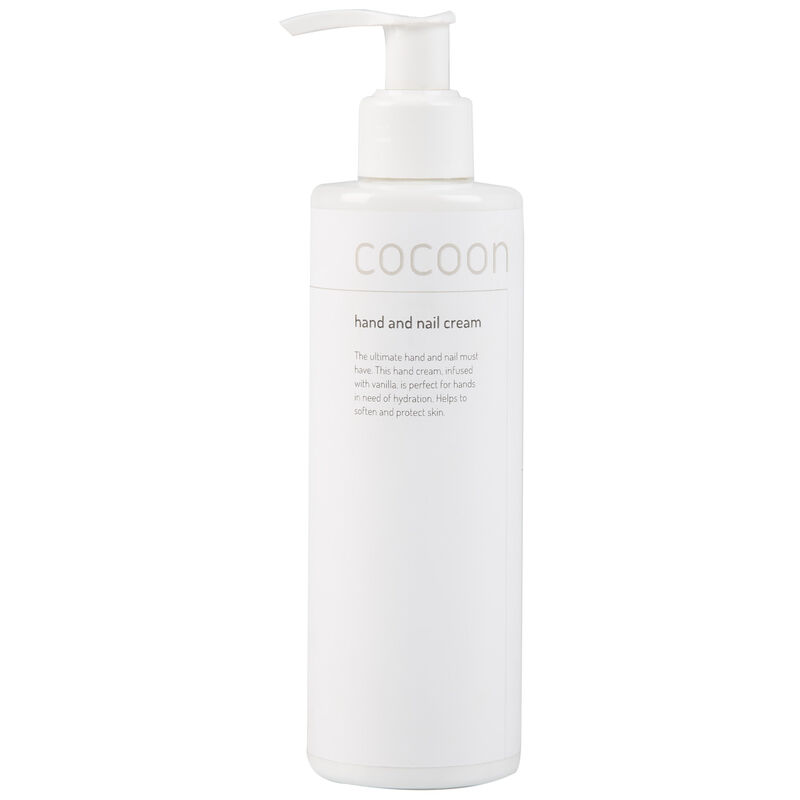Cocoon Hand & Nail Lotion -  white-brown