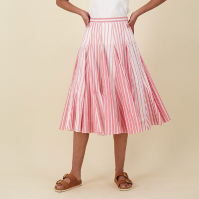 Brexley Stripe Skirt