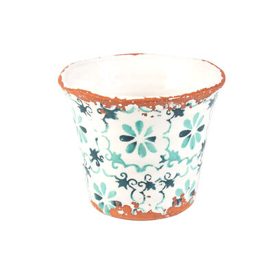 Medium Portugal Teal Planter