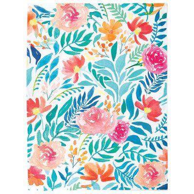 Brights Floral Tea Towel