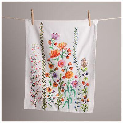 Amelia Floral Tea Towel