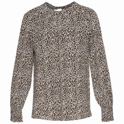 Lynne Animal Print Blouse