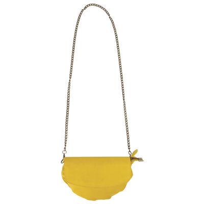 Amara Leather Clutch Bag