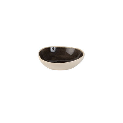 Wonki Ware Solid Black Maddie Salt Bowl