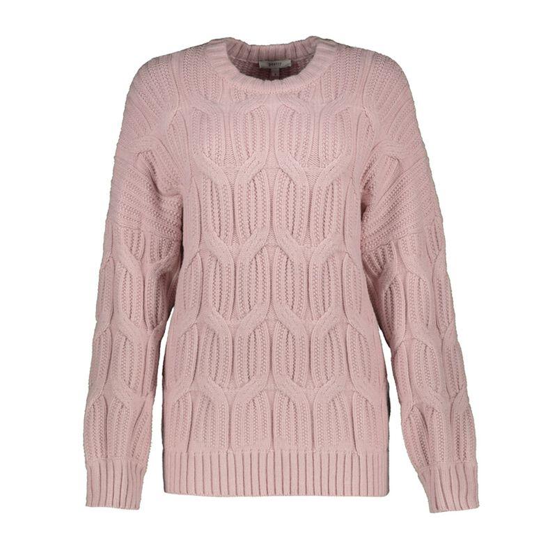 Valerie Cable Jumper -  pink