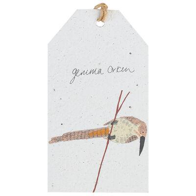 Gemma Orkin White Bird Tag