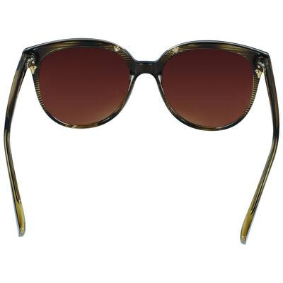 Classic Large Striped Sunglasses