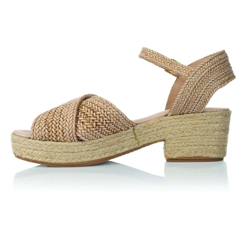 Rare Earth Monica Sandal -  nude