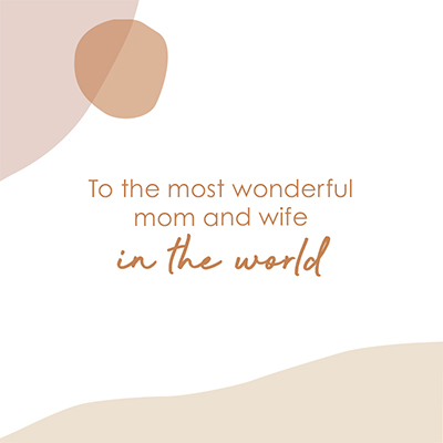 Gift Card - Mom & Wife