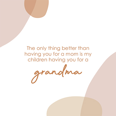 Gift Card - For Grandma